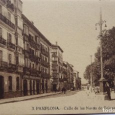 Postales: P-12667. PAMPLONA. CALLE DE LAS NAVAS DE TOLOSA. AÑOS 20. NO CIRCULADA.. Lote 255967790