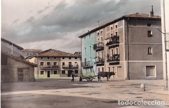 ALSASUA 8 BARRIO DE SANTA CRUZ SIN CIRCULAR. FORMATO GRANDE (Postales - España - Navarra Antigua (hasta 1.939))