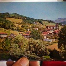 Cartoline: POSTAL VERA DE BIDASOA NAVARRA VISTA DEL PUEBLO DESDE EL CAMPING TELLECHEA S/C. Lote 257484510