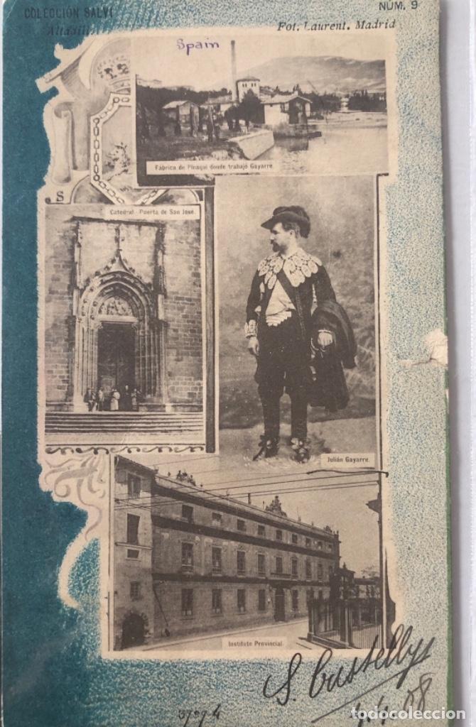 POSTAL DE PAMPLONA. NAVARRA (Postales - España - Navarra Antigua (hasta 1.939))