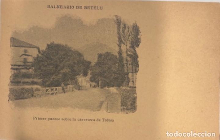 POSTAL DE BETELU.NAVARRA (Postales - España - Navarra Antigua (hasta 1.939))