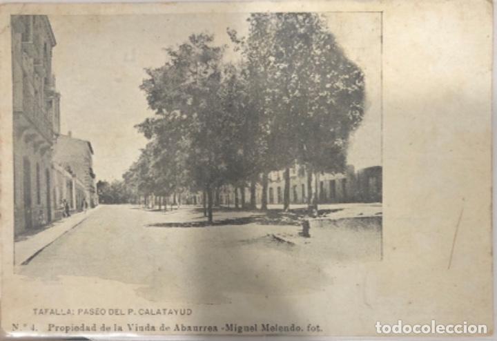 POSTAL DE TAFALLA .NAVARRA (Postales - España - Navarra Antigua (hasta 1.939))