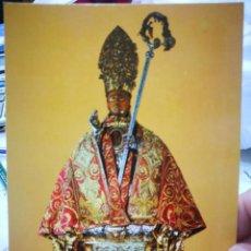 Postales: POSTAL PAMPLONA IGLESIA PARROQUIAL DE SAN LORENZO SAN FERMÍN PERLA S/C. Lote 258314280