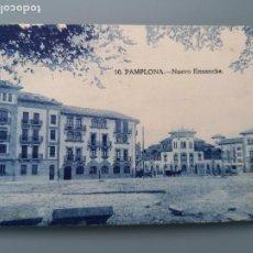 Postales: POSTAL PAMPLONA Nº 10 NUEVO ENSANCHE NAVARRA PERFECTA CONSERVACION CIRCULADA 1930. Lote 259215480