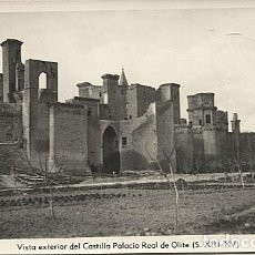 Postales: X125296 NAVARRA OLITE VISTA EXTERIOR DEL CASTILLO PALACIO REAL DE OLITE. Lote 259984765