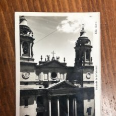 Postales: POSTAL PAMPLONA: FACHADA DE LA CATEDRAL. Lote 260666225