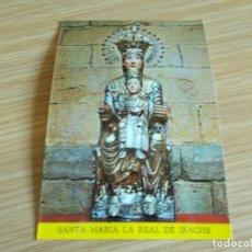 Postales: IRACHE --NAVARRA -- NTRA SRA SANTA MARIA LA REAL. Lote 260937205