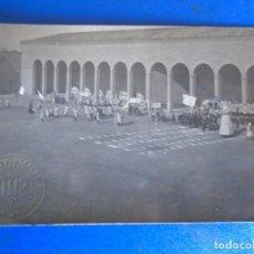 Postales: (PS-65167)POSTAL FOTOGRAFICA DE TUDELA-COLEGIO DE S.FRANCISCO JAVIER.GIGANTES.SELLO EN SECO. Lote 261232925