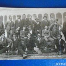 Postales: (PS-65174)POSTAL FOTOGRAFICA DE TUDELA-COLEGIO DE S.FRANCISCO JAVIER.BACHILLERES DEL CURSO 1913-1914. Lote 261234660