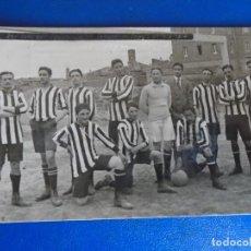 Postales: (PS-65175)POSTAL FOTOGRAFICA DE TUDELA-COLEGIO DE S.FRANCISCO JAVIER.FOOT-BALL EQUIPO 1914-1914. Lote 261234940