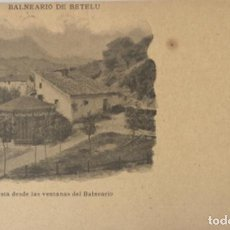 Cartes Postales: POSTAL DEL BALNEARIO DE BETELU .NAVARRA. Lote 261546790