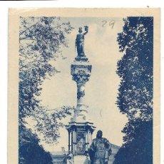 Postales: 24. PAMPLONA - MONUMENTO A LOS FUEROS DE NAVARRA - L. ROISIN - CIRCULADA AÑO 1943. Lote 261938490