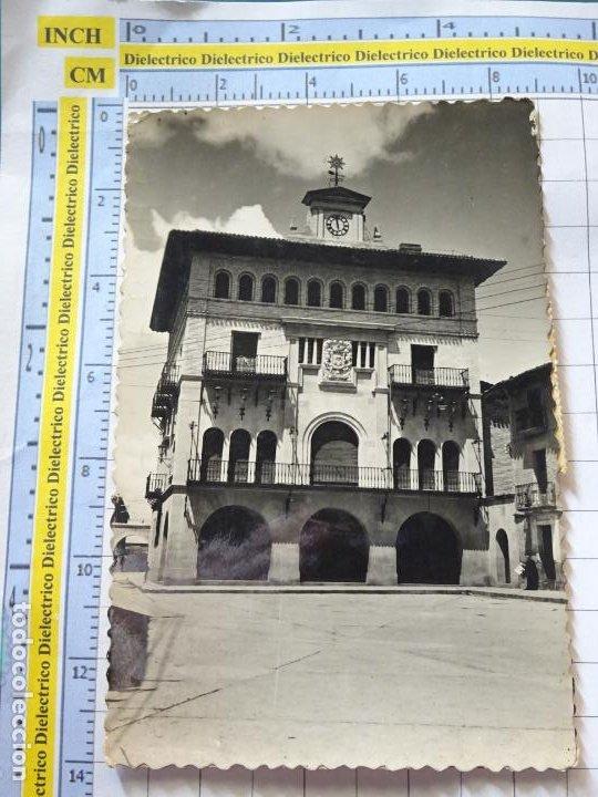 POSTAL DE NAVARRA. AÑOS 30 50. OLITE CASA CONSISTORIAL 1 ARRIBAS. 876 (Postales - España - Navarra Antigua (hasta 1.939))