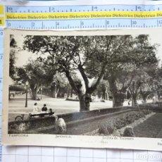 Postales: POSTAL DE NAVARRA. AÑOS 30 50. PAMPLONA, JARDINES DE TACONERA. MANIPEL. 882. Lote 262076580
