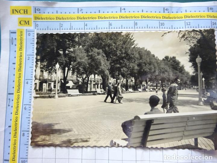 POSTAL DE NAVARRA. AÑOS 30 50. PAMPLONA, PASEO DE SARASATE. 52 DARVI. 883 (Postales - España - Navarra Antigua (hasta 1.939))