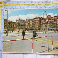 Postales: POSTAL DE NAVARRA. AÑO 1964. PAMPLONA, PLAZA DEL CASTILLO. 52 VAQUERO. 888. Lote 262077195