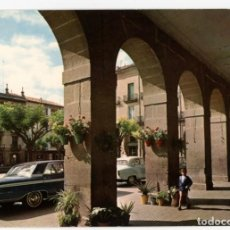 Postales: EM0866 TAFALLA PORCHES DE LA PLAZA NAVARRA 1967 ESCUDO DE ORO Nº1 FORD GALAXY 500. Lote 262666420