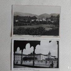 Cartes Postales: R-37.- LOTE DE -- 2 -- POSTALES DE - LECAROZ - ( NAVARRA ) COLEGIO DE LECAROZ, PADRES CAPUCHINOS. Lote 267440554