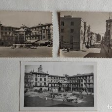 Postales: R-38.- LOTE DE -- 3 -- POSTALES DE -- TUDELA -- PLAZA DE LOS FUEROS Y Y CALLE SOLDEVILA , VER FOTOS. Lote 267440854