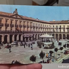 Postales: TAFALLA PLAZA NAVARRO HELIOTIPIA 5 CIRCULADA AÑOS 60 MATASELLOS TAFALLA BONITO NAVARRA ANIMADA. Lote 268877729