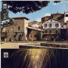 Postales: PAMPLONA.- BALUARTE DEL REDIN Y PLAZA DEL CASTILLO.- SIN USAR.. Lote 269124598