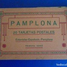 Postales: (PS-65721)BLOCK DE 20 POSTALES DE PAMPLONA-PRIMERA SERIE.ESTANISLAO ESPELOSIN. Lote 269363933
