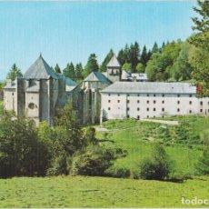 Postales: RONCESVALLES (NAVARRA) VISTA GENERAL Y ABSIDE - EDICIONES SICILIA Nº6 - S/C. Lote 270373693