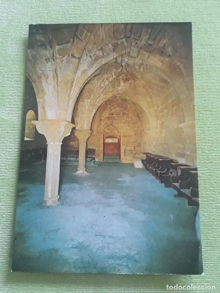 ABADIA CISTERCIENSE DE STA. MARIA REAL DE LA OLIVA - CARCASTILLO - COMEDOR DE CONVERSOS (Postales - España - Navarra Moderna (desde 1.940))