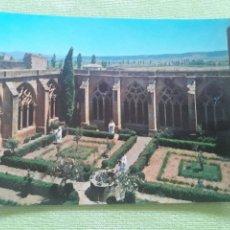 Postales: ABADIA CISTERCIENSE DE STA. MARIA REAL DE LA OLIVA - CARCASTILLO - CLAUSTRO - (SIGLOS XII Y XIII). Lote 271778943