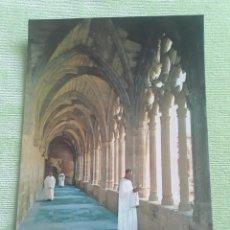 Postales: ABADIA CISTERCIENSE DE STA. MARIA REAL DE LA OLIVA - CARCASTILLO - CLAUSTRO - (SIGLOS XII Y XIII). Lote 271779283