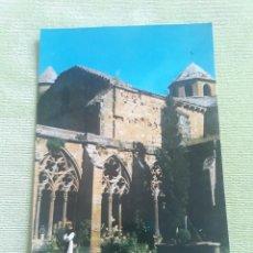 Postales: ABADIA CISTERCIENSE DE STA. MARIA REAL DE LA OLIVA - CARCASTILLO - VISTA DEL CAMPANARIO. Lote 271779918