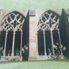 Postales: ABADIA CISTERCIENSE DE STA. MARIA REAL DE LA OLIVA - CARCASTILLO - DETALLE DEL CLAUSTRO. Lote 271780378