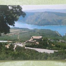 Postales: MONASTERIO DE LEYRE (NAVARRA) - VISTA GENERAL Y PANTANO DE YESA. Lote 271783283