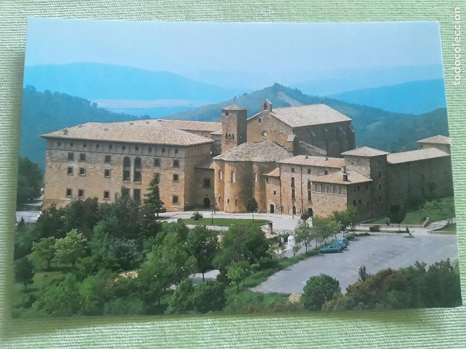 MONASTERIO DE LEYRE (NAVARRA) - VISTA GENERAL (Postales - España - Navarra Moderna (desde 1.940))