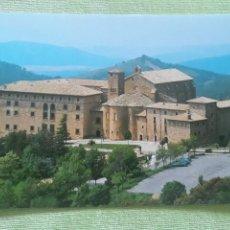 Postales: MONASTERIO DE LEYRE (NAVARRA) - VISTA GENERAL. Lote 271783528