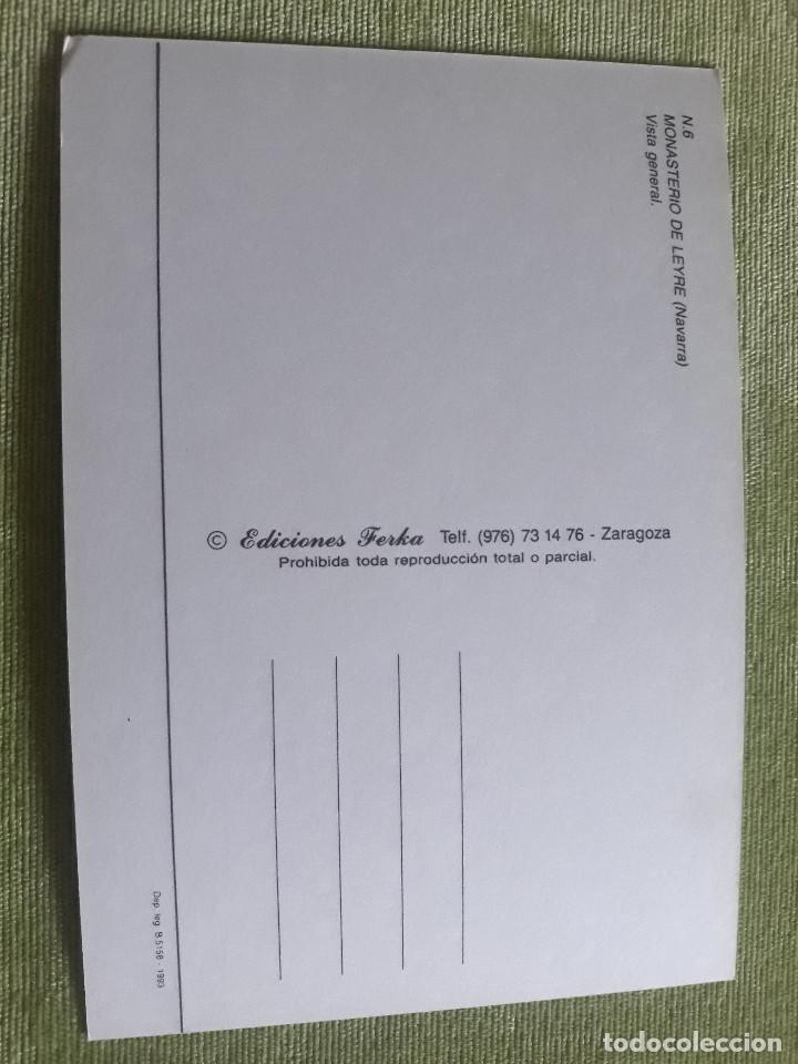 Postales: MONASTERIO DE LEYRE (NAVARRA) - VISTA GENERAL - Foto 2 - 271783528