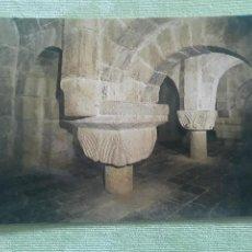 Postales: MONASTERIO DE LEYRE (NAVARRA) - CRIPTA - SIGLO XI. Lote 271783883