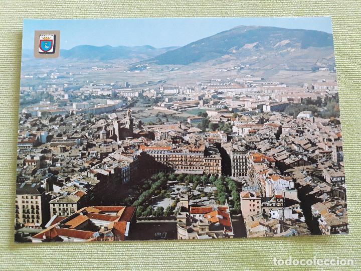 PAMPLONA - VISTA AÉREA CENTRO CIUDAD (Postales - España - Navarra Moderna (desde 1.940))