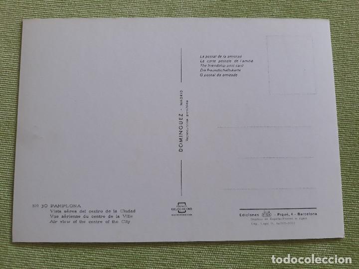 Postales: PAMPLONA - VISTA AÉREA CENTRO CIUDAD - Foto 2 - 271927528