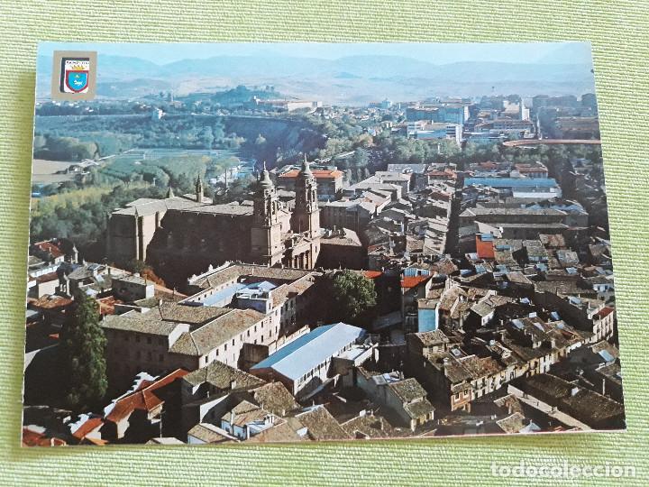 PAMPLONA - VISTA AÉREA DE LA CATEDRAL (Postales - España - Navarra Moderna (desde 1.940))