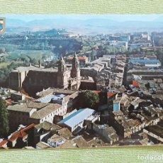 Postales: PAMPLONA - VISTA AÉREA DE LA CATEDRAL. Lote 271927708