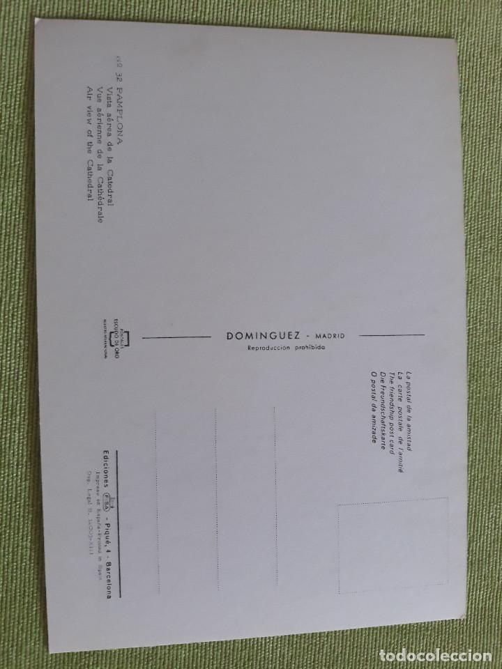 Postales: PAMPLONA - VISTA AÉREA DE LA CATEDRAL - Foto 2 - 271927708