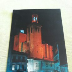 Postales: PAMPLONA - IGLESIA DE SAN CERNÍN (NOCHE). Lote 271928158