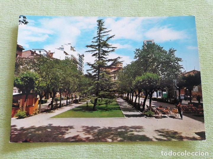 TUDELA (NAVARRA) - PASEO DE INVIERNO (Postales - España - Navarra Moderna (desde 1.940))