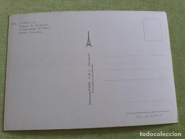Postales: TUDELA (NAVARRA) - PASEO DE INVIERNO - Foto 2 - 271928468