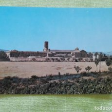 Postales: ABADIA CISTERCIENSE DE STA. MARIA REAL DE LA OLIVA - CARCASTILLO - VISTA GENERAL 1965. Lote 271929858