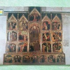 Postales: TUDELA (NAVARRA) - RETABLO DE SANTA CATALINA - SIGLO XIV. Lote 272246598