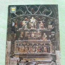 Postales: TUDELA (NAVARRA) - MUSOLEO DE MOSEN FRANCÉS DE VILLAESPESA. SIGLO XV. Lote 272246883