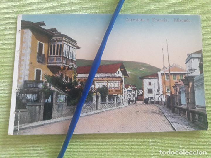 ELIZONDO - CARRETERA A FRANCIA - EDICIÓN ANTONIO ECHAIDE Nº 1 - SIN CIRCULAR (Postales - España - Navarra Antigua (hasta 1.939))