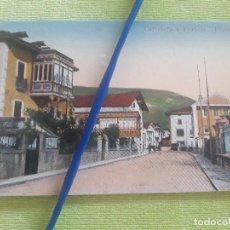 Postales: ELIZONDO - CARRETERA A FRANCIA - EDICIÓN ANTONIO ECHAIDE Nº 1 - SIN CIRCULAR. Lote 273253288